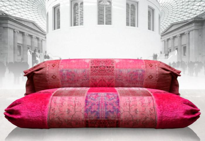 canap patchwork pc divano koursi. Black Bedroom Furniture Sets. Home Design Ideas