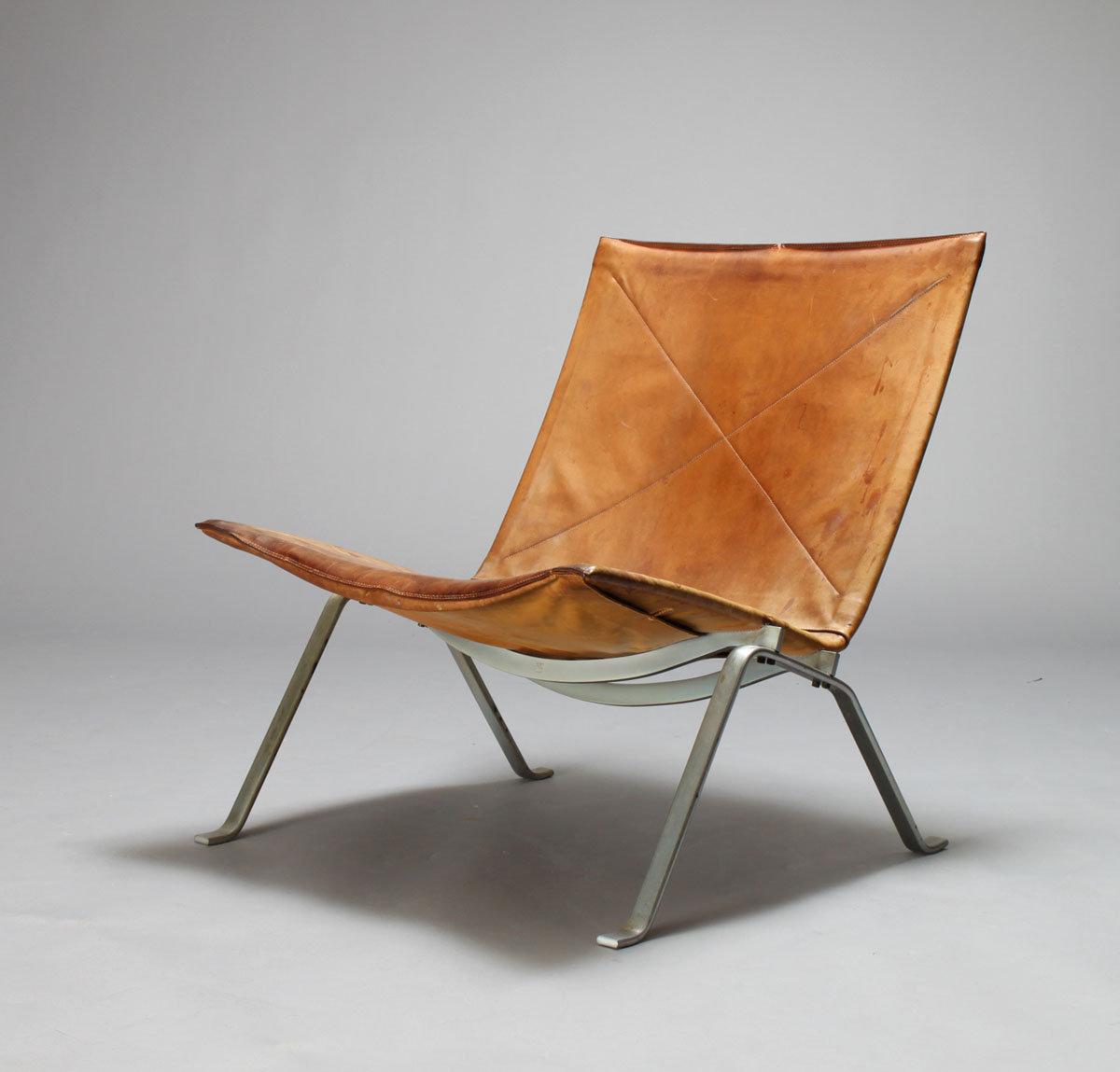 poul kjaerholm pk22 koursi. Black Bedroom Furniture Sets. Home Design Ideas