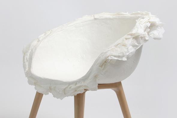paper chair by innovo design koursi. Black Bedroom Furniture Sets. Home Design Ideas