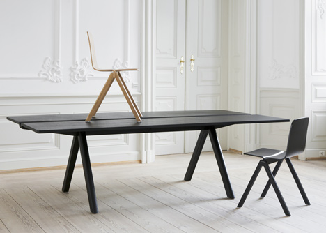 bouroullec chair by ronan erwan bouroullec koursi. Black Bedroom Furniture Sets. Home Design Ideas